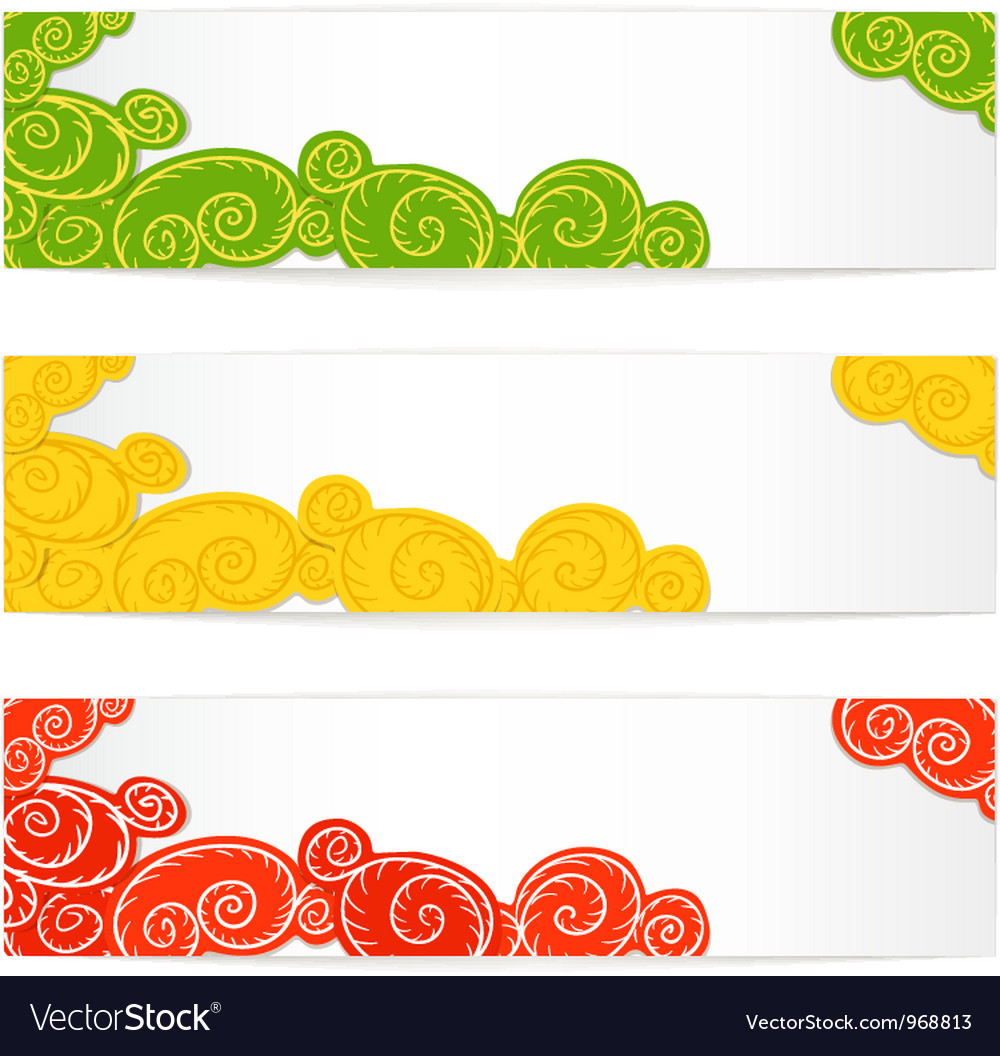 Colorful flying balloons set vector | Price: 1 Credit (USD $1)