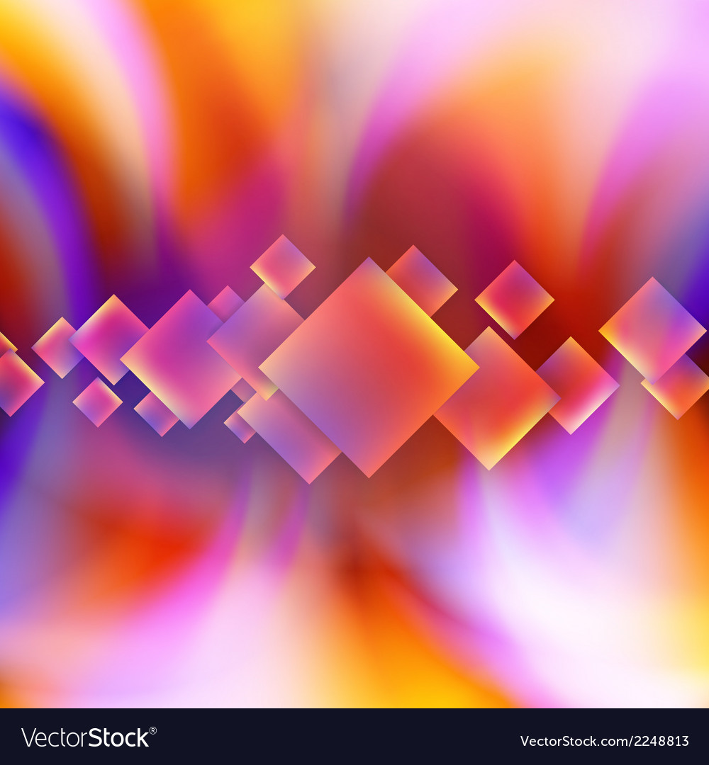 Colorful square blank background vector   Price: 1 Credit (USD $1)