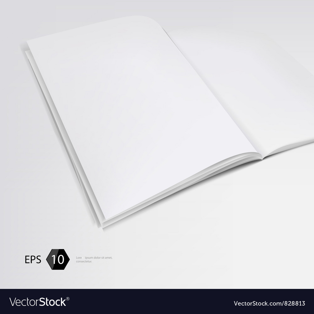 Magazine vector | Price: 1 Credit (USD $1)