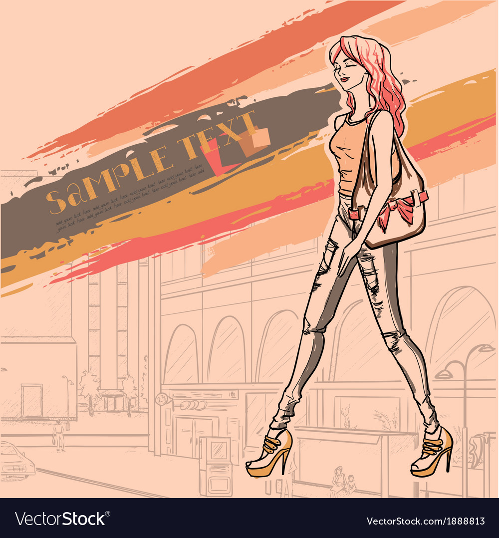 Urban fashion vector | Price: 1 Credit (USD $1)