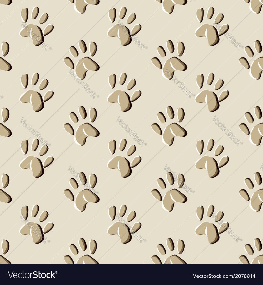 Animal prints seamless pattern vector | Price: 1 Credit (USD $1)