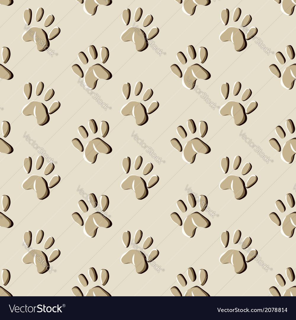 Animal prints seamless pattern vector   Price: 1 Credit (USD $1)