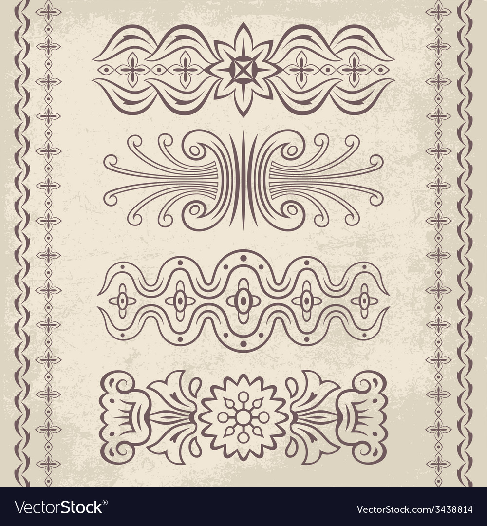 Decor elements vector | Price: 1 Credit (USD $1)