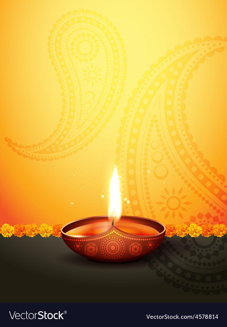 Diwali greeting vector | Price: 1 Credit (USD $1)