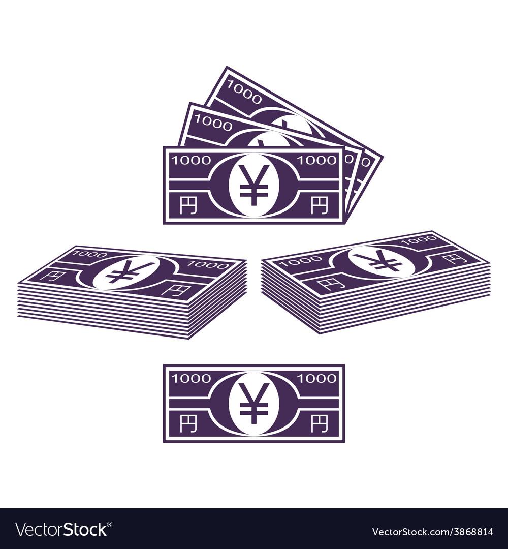 Japanese yen vector | Price: 1 Credit (USD $1)