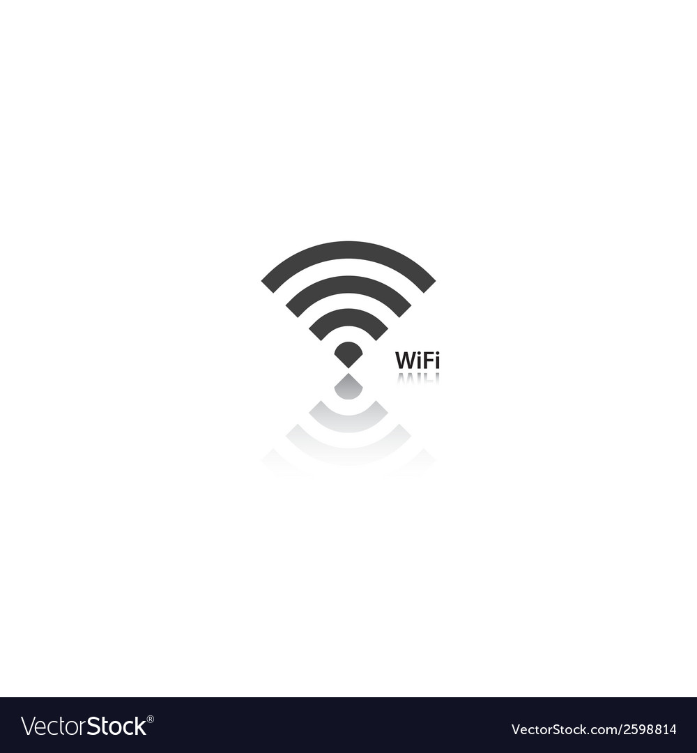 Wifi icon vector | Price: 1 Credit (USD $1)