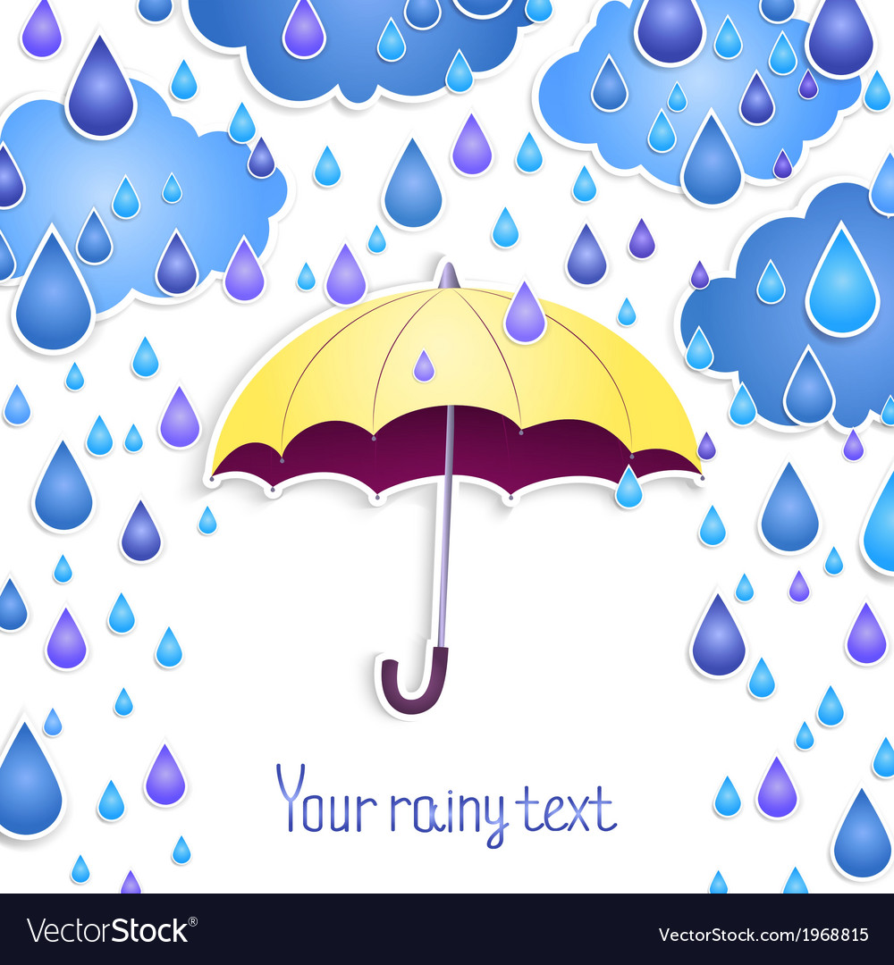 Background for the text with an umbrella vector | Price: 1 Credit (USD $1)