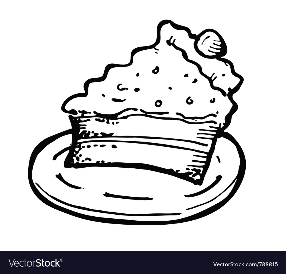 Cheesecake vector | Price: 1 Credit (USD $1)
