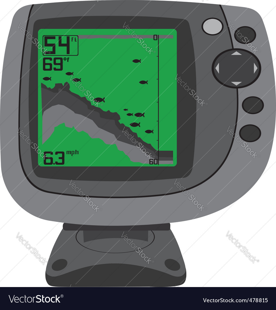 Fishing finder vector | Price: 1 Credit (USD $1)