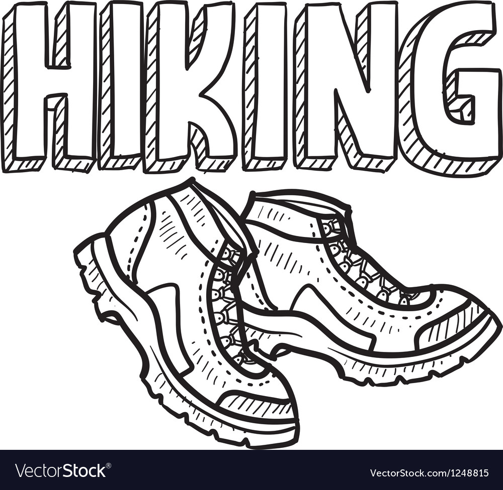 Hiking vector | Price: 1 Credit (USD $1)