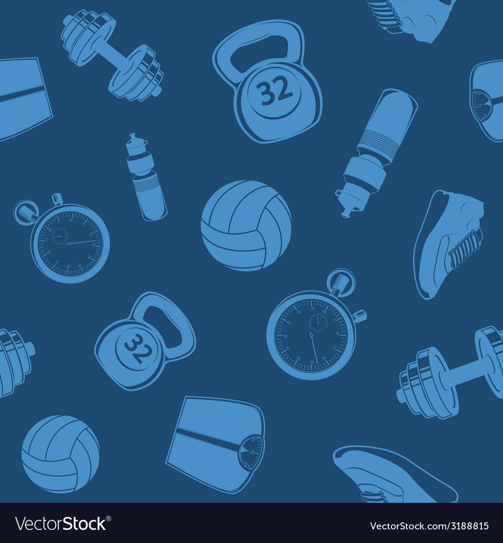 Sport seamless pattern vector   Price: 1 Credit (USD $1)