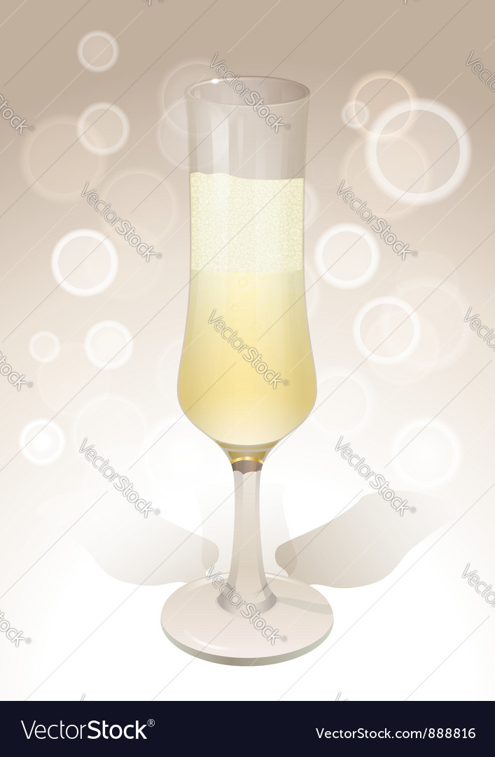 Wineglass background vector | Price: 1 Credit (USD $1)