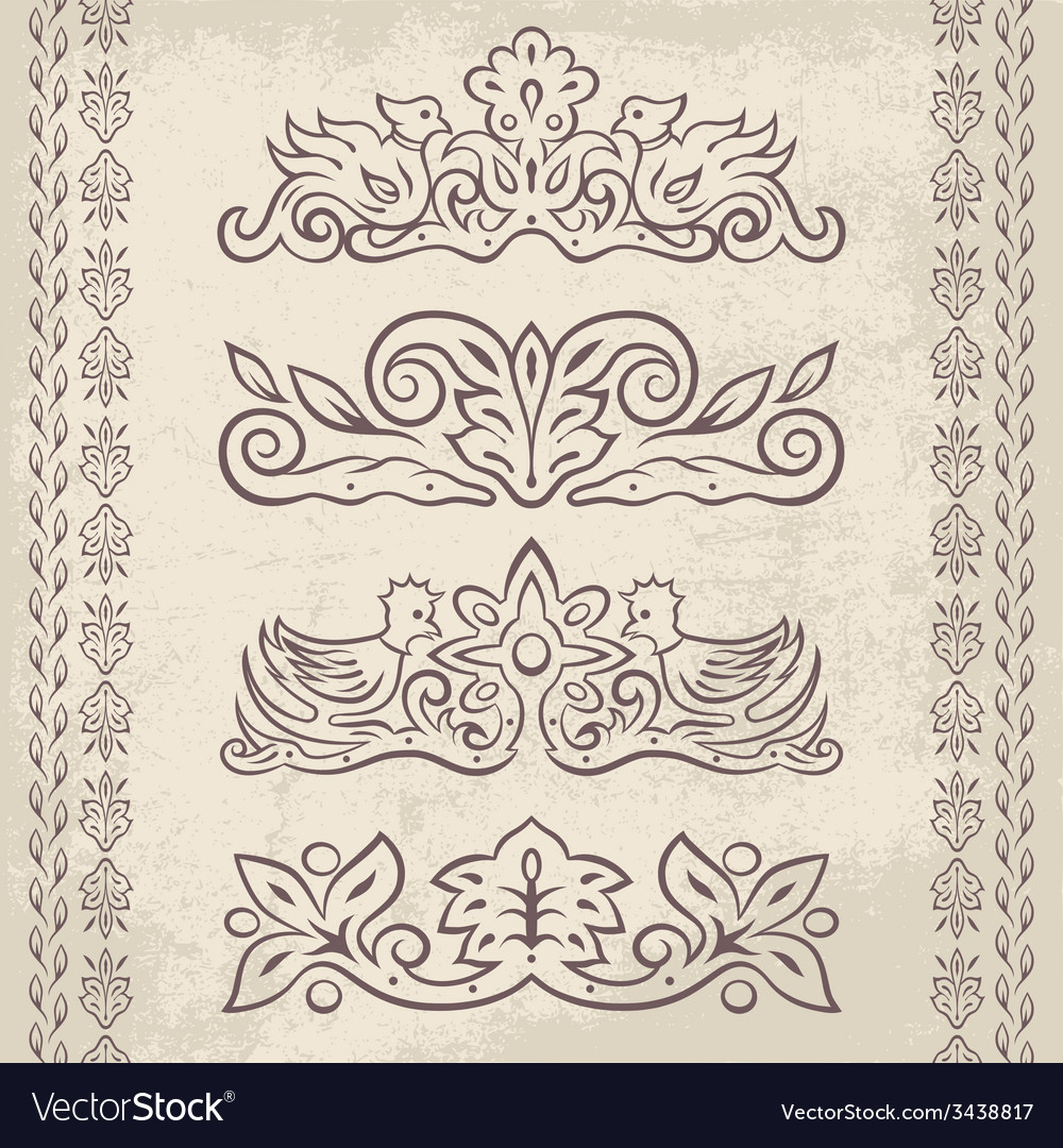 Decor elements2 vector | Price: 1 Credit (USD $1)