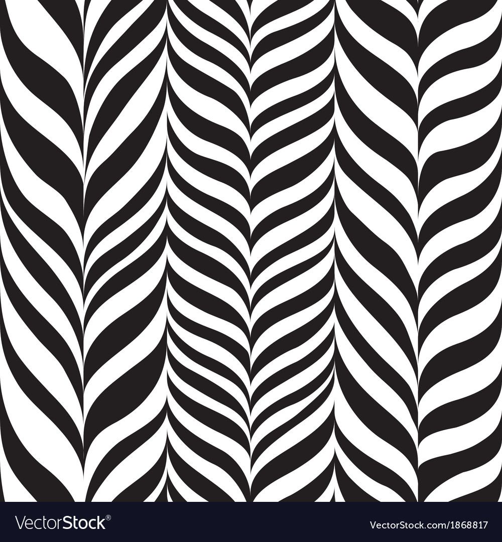 Freehand zebra herringbone vector | Price: 1 Credit (USD $1)
