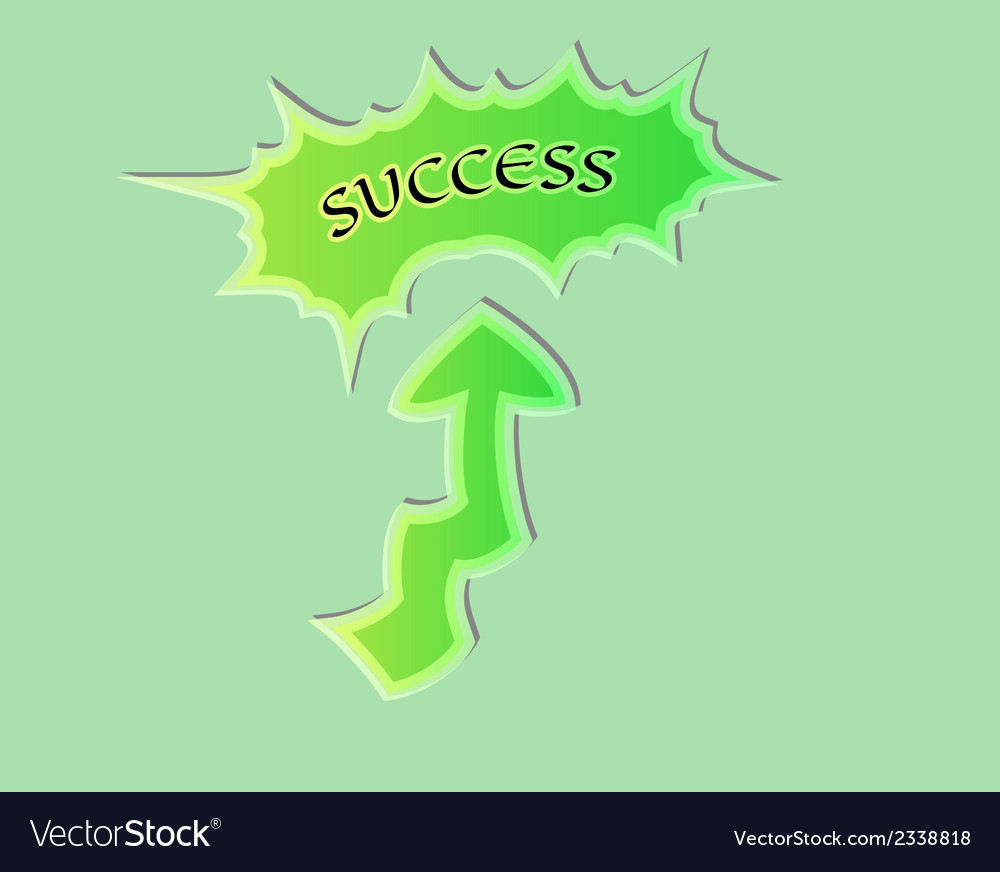 Success vector | Price: 1 Credit (USD $1)