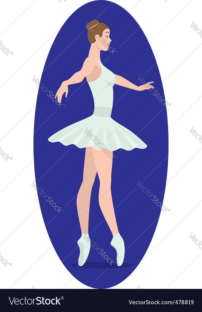 Ballerina figure vector   Price: 1 Credit (USD $1)
