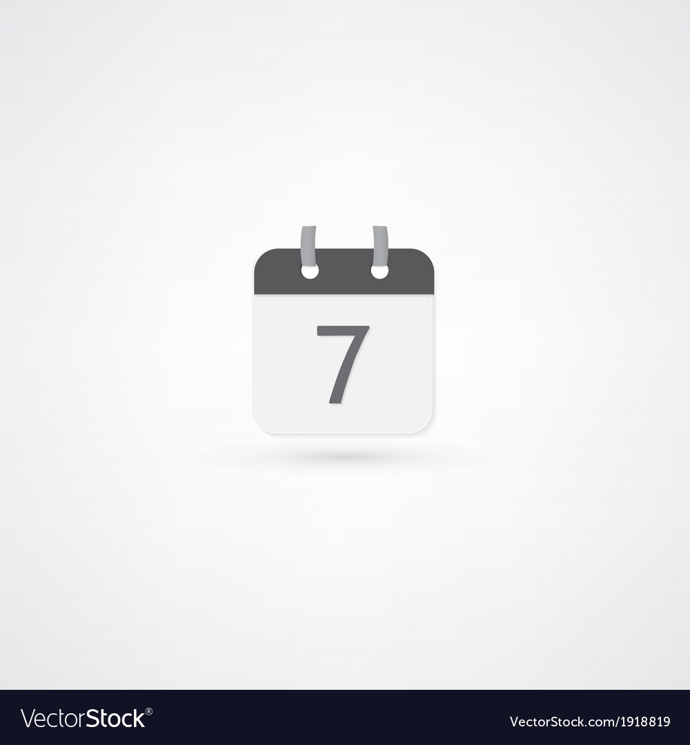 Date icon vector   Price: 1 Credit (USD $1)