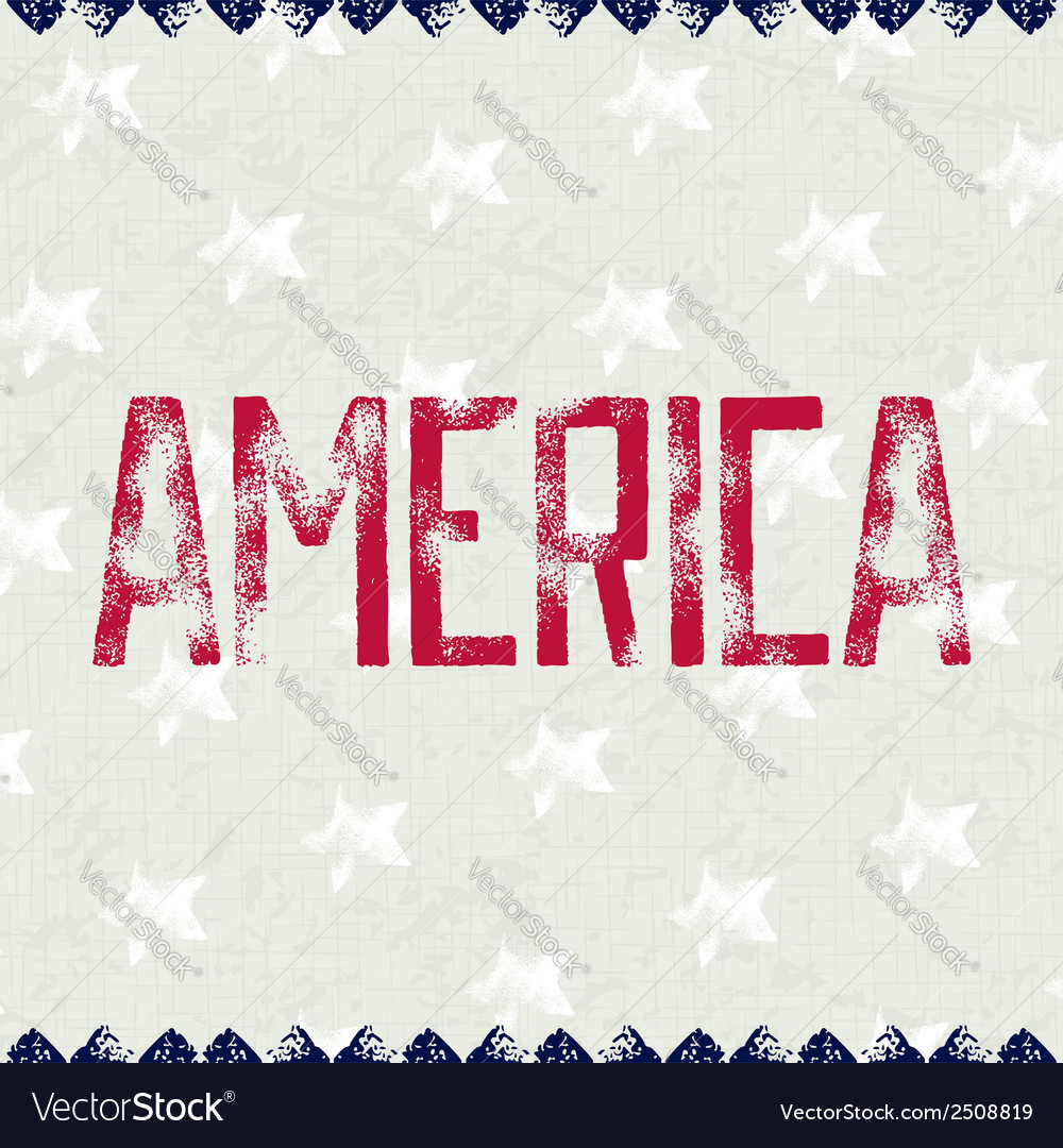 Patriotic background america vector | Price: 1 Credit (USD $1)