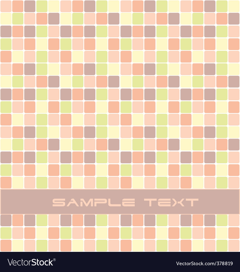 Squares background vector | Price: 1 Credit (USD $1)