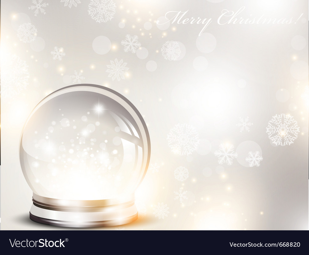 Christmas and new year glass ball vector | Price: 1 Credit (USD $1)