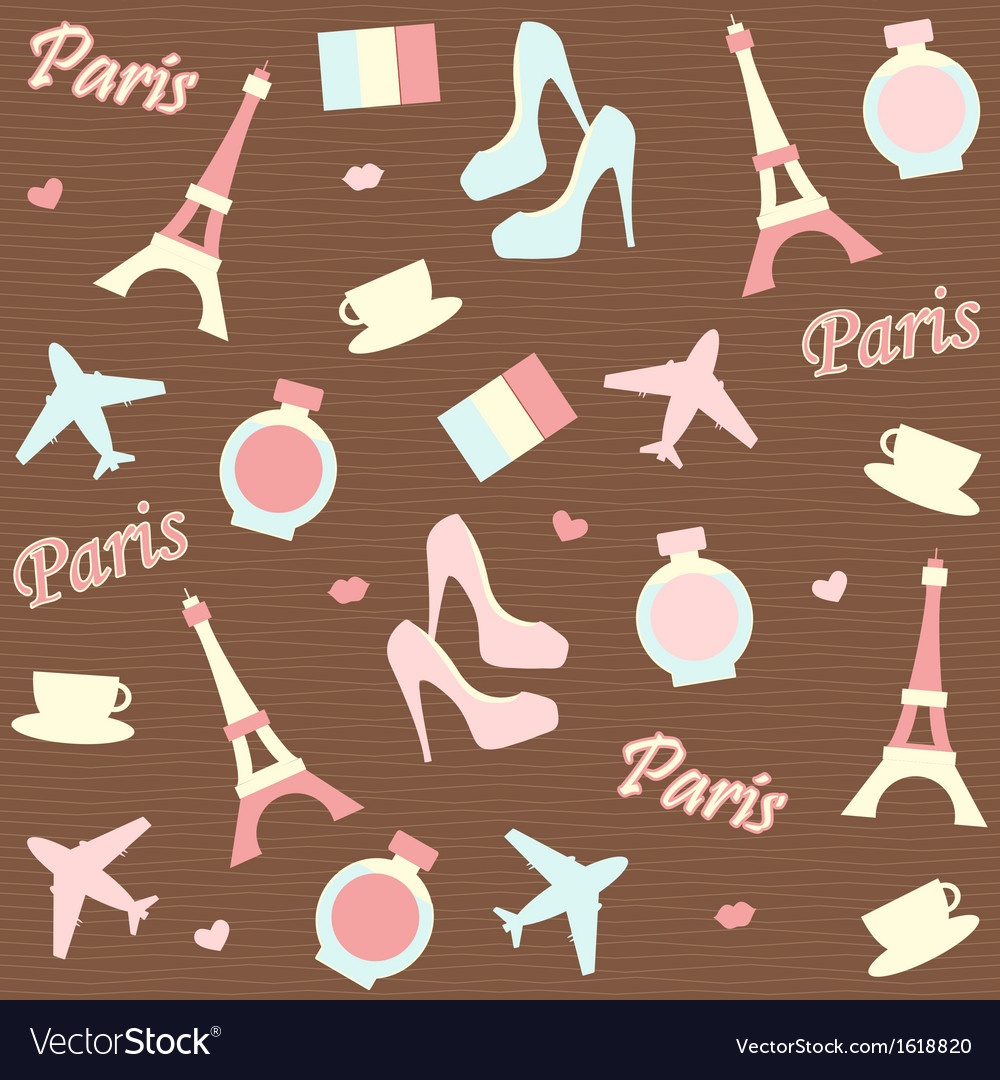 Paris background vector | Price: 1 Credit (USD $1)