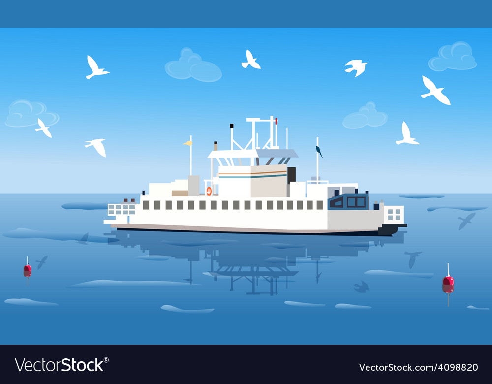 Small ship vector | Price: 3 Credit (USD $3)