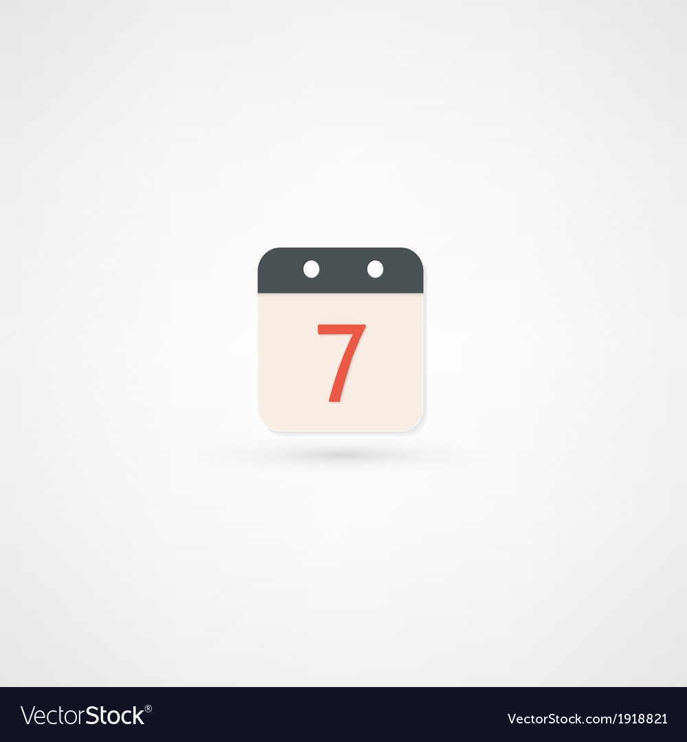 Date icon vector | Price: 1 Credit (USD $1)