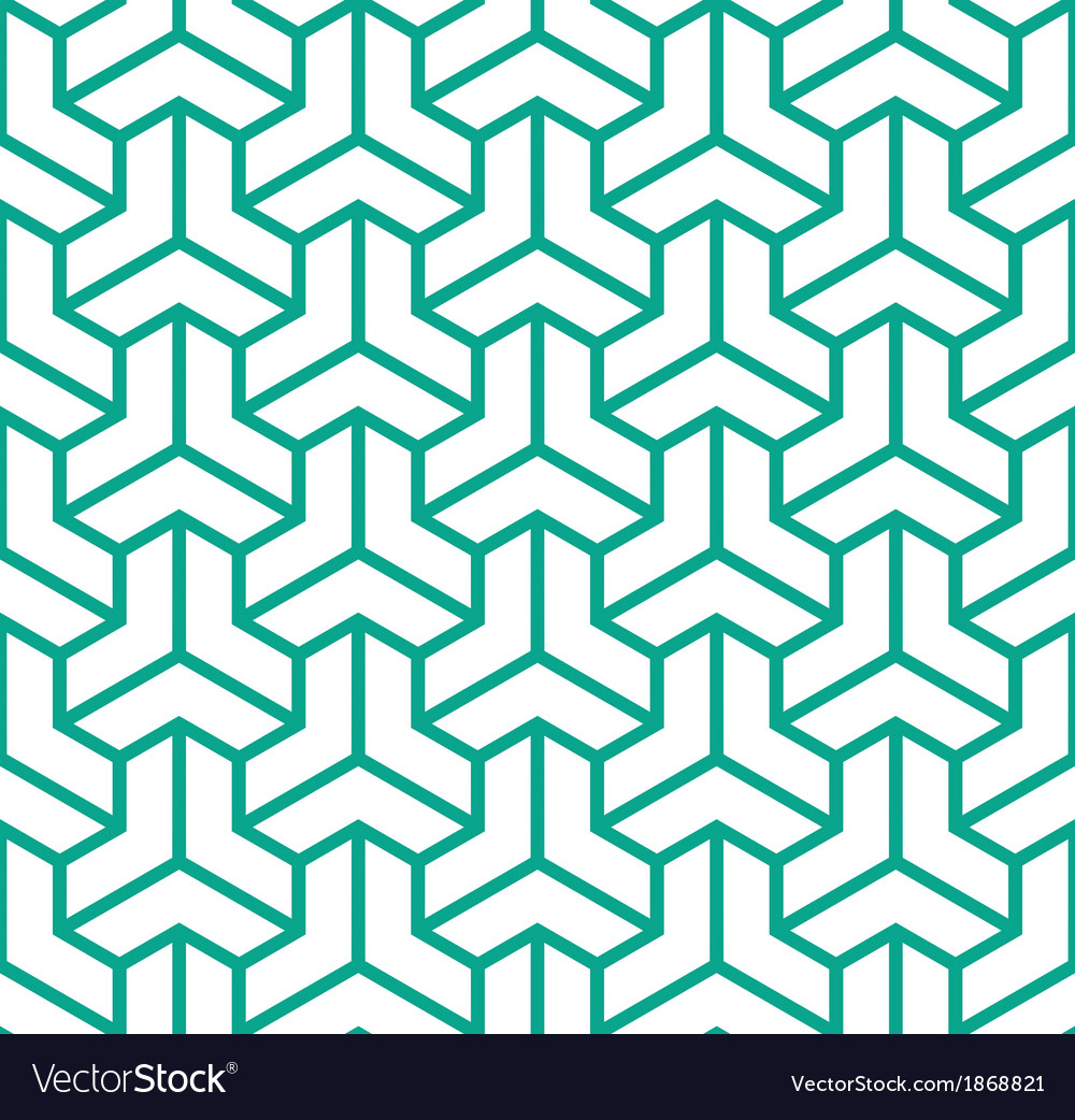 Geometric hexagon cube vector | Price: 1 Credit (USD $1)