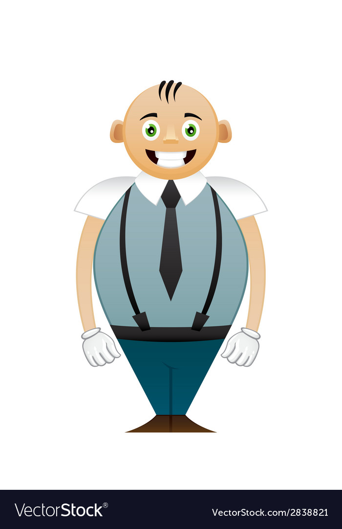 Shorty office man vector | Price: 1 Credit (USD $1)