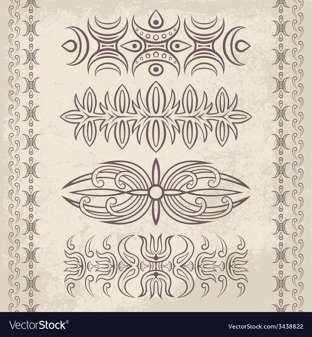 Decor elements1 vector | Price: 1 Credit (USD $1)