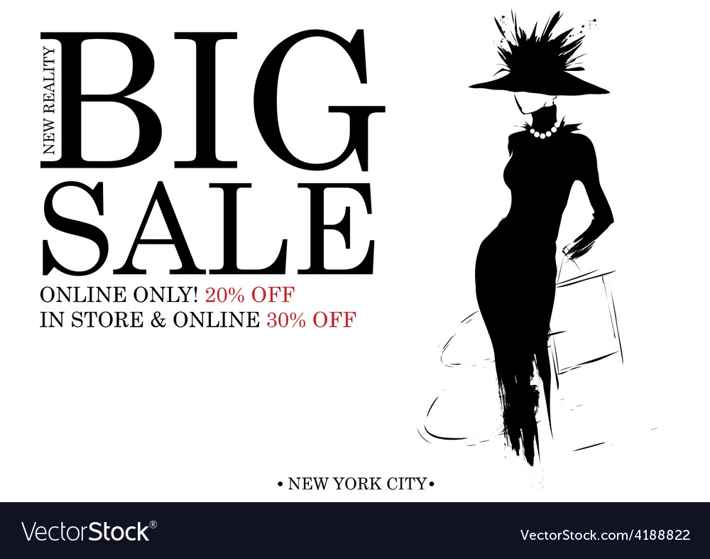 Fashion shopping design vector