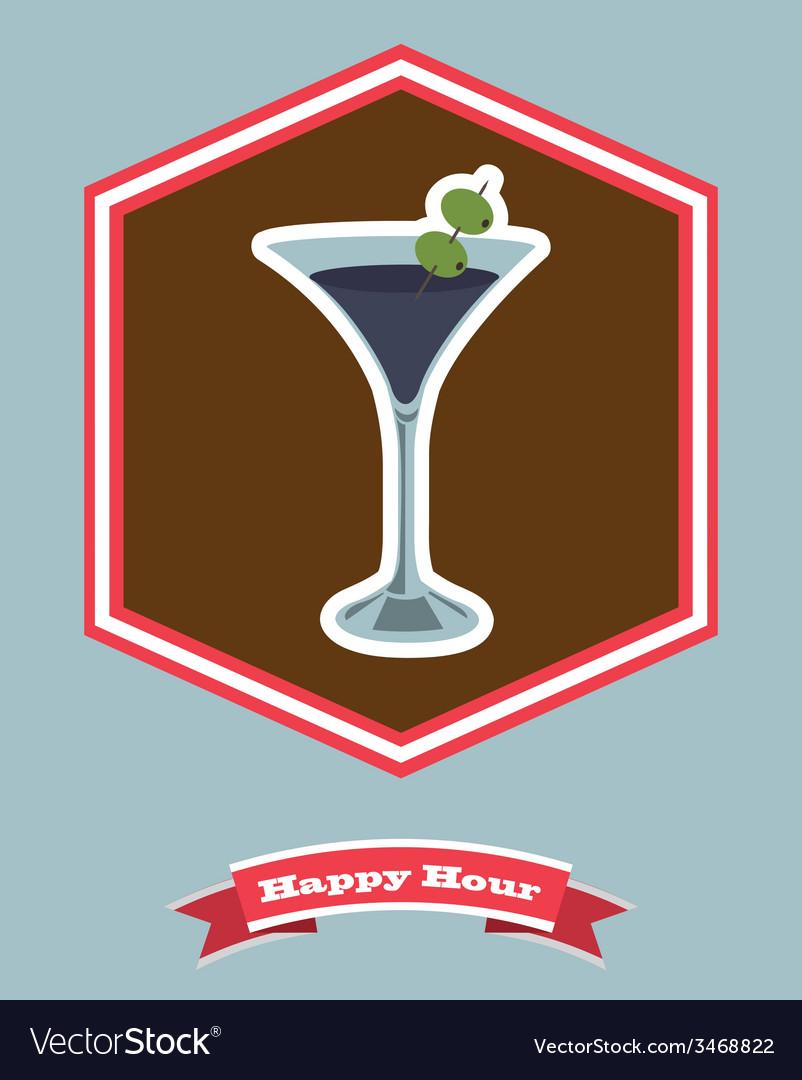 Happy hour design vector   Price: 1 Credit (USD $1)