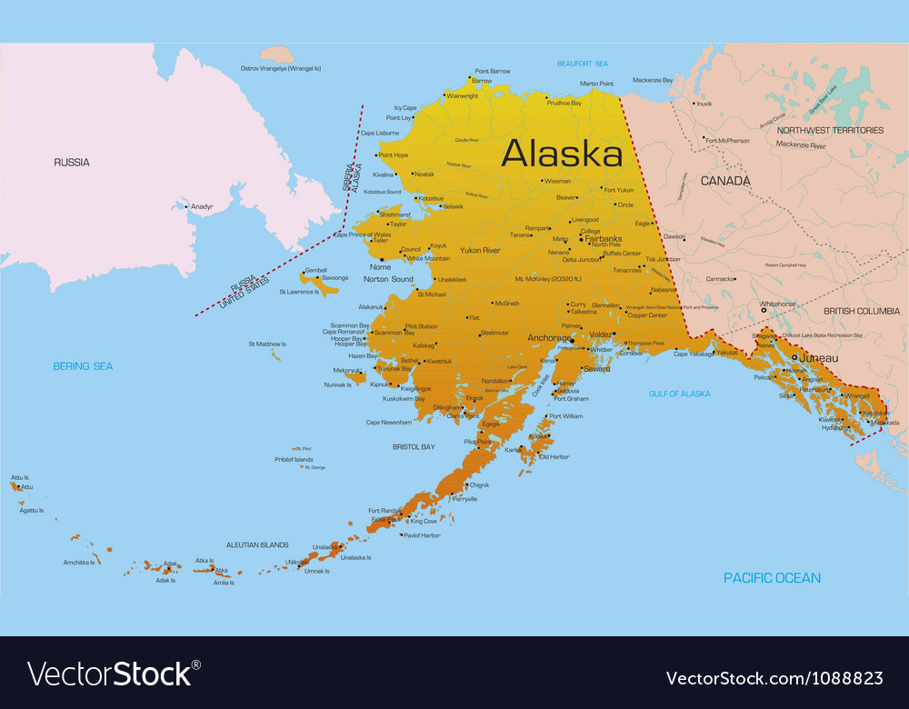 Alaska vector | Price: 1 Credit (USD $1)