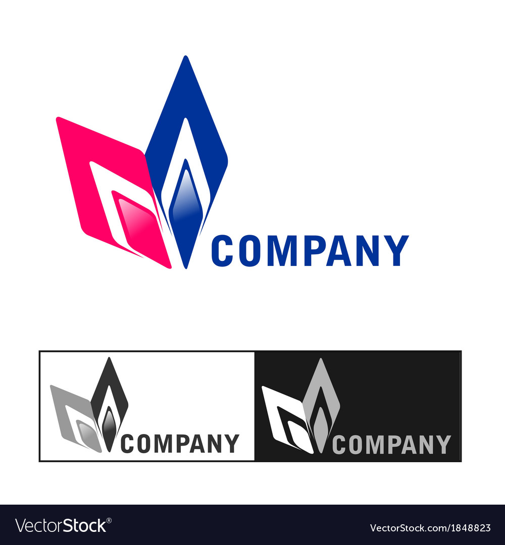 Business company logo design vector | Price: 1 Credit (USD $1)