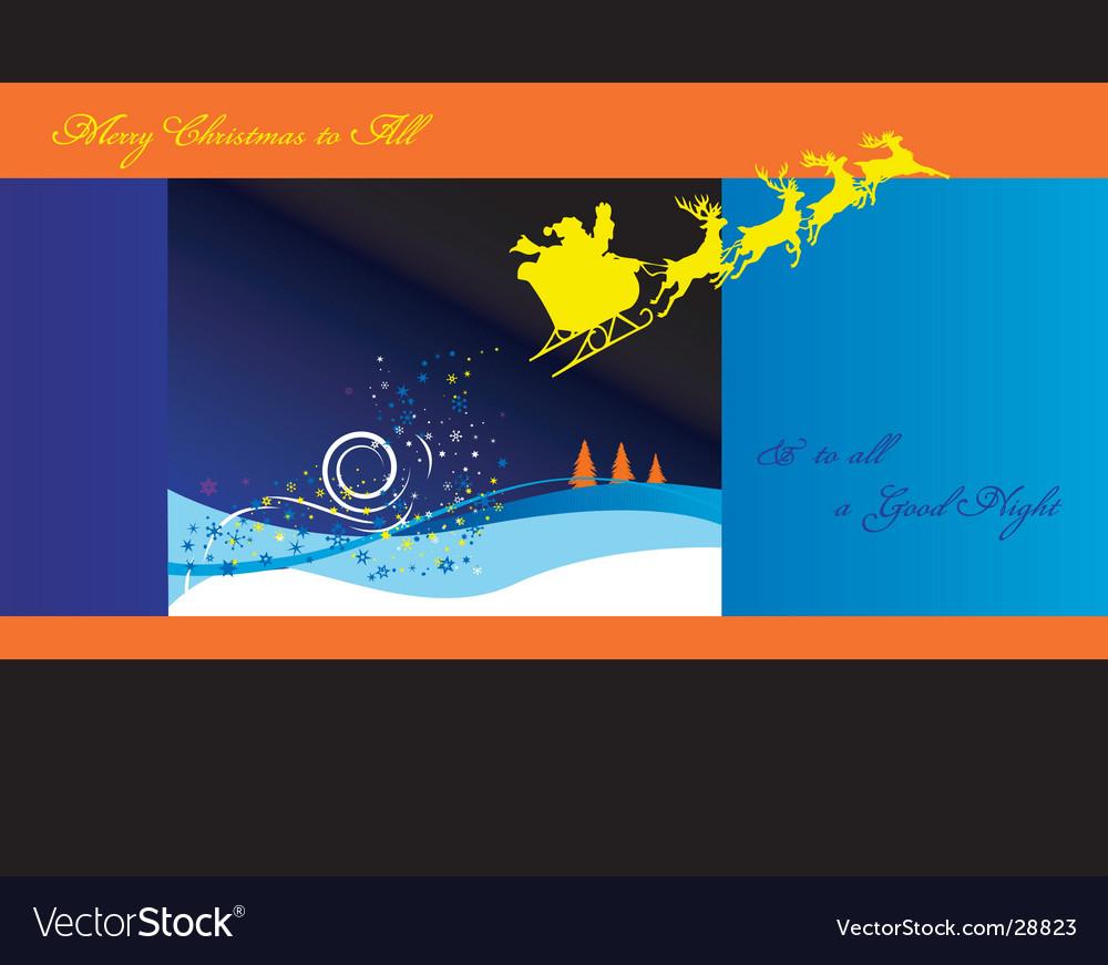 Santa's sleigh vector   Price: 1 Credit (USD $1)