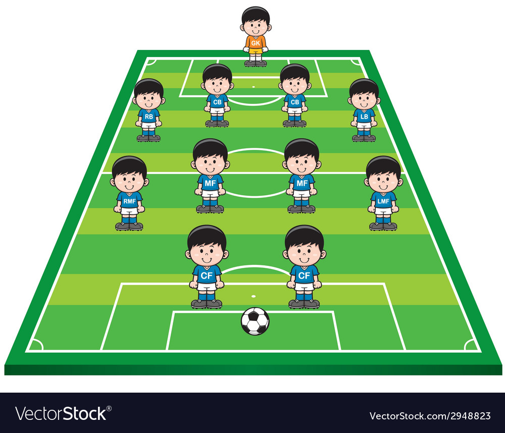 Soccer strategy vector | Price: 1 Credit (USD $1)