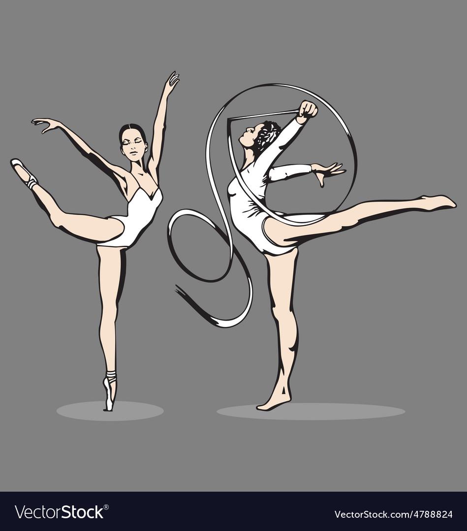 Ballerina vector   Price: 1 Credit (USD $1)