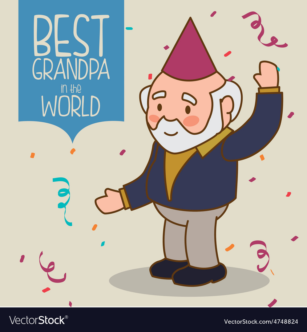 Grandparents design vector | Price: 1 Credit (USD $1)