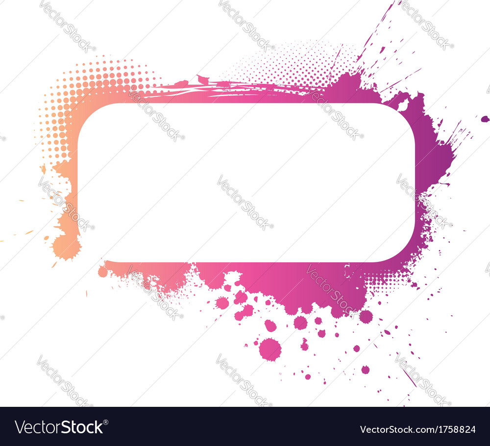Grunge colorful banner vector | Price: 1 Credit (USD $1)