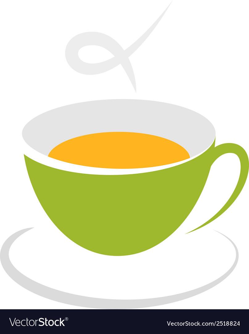 Tea cup icon vector | Price: 1 Credit (USD $1)