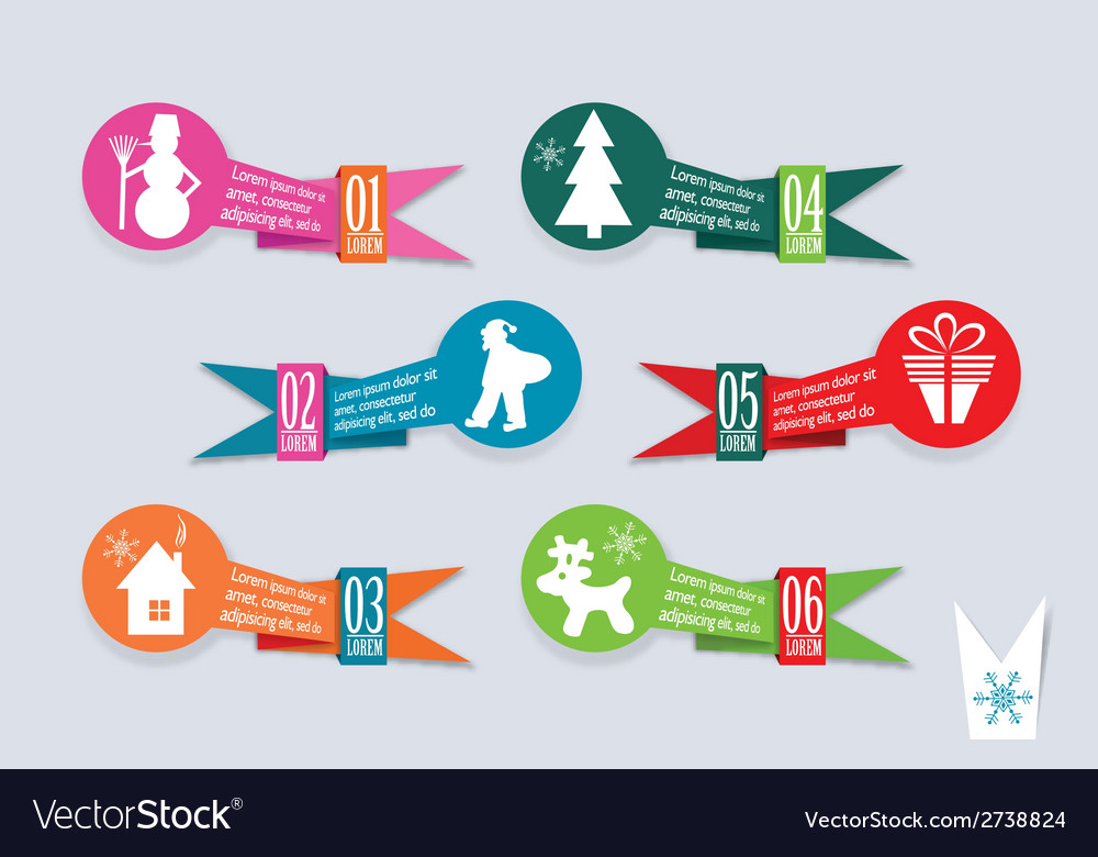 Template christmas greeting card vector   Price: 1 Credit (USD $1)