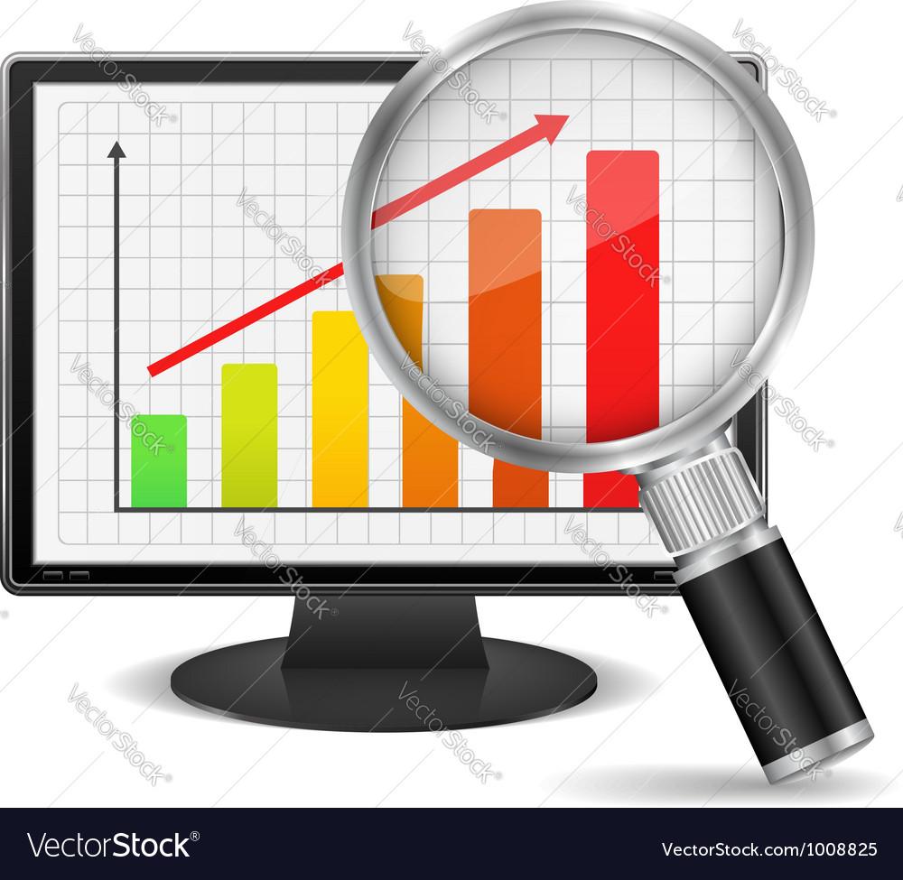 Bar graph vector | Price: 3 Credit (USD $3)