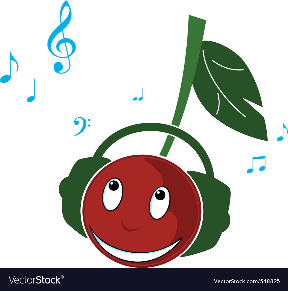 Cherry music vector   Price: 1 Credit (USD $1)