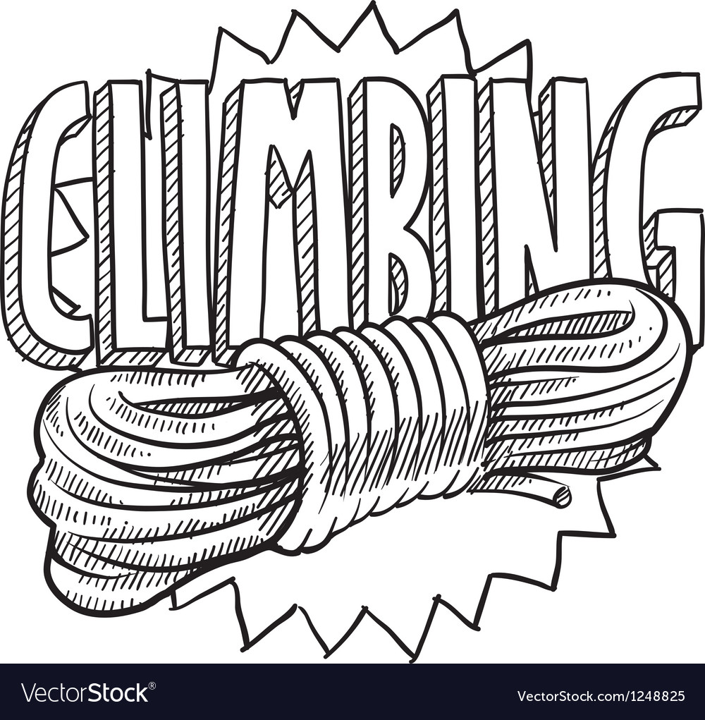 Climbing vector | Price: 1 Credit (USD $1)