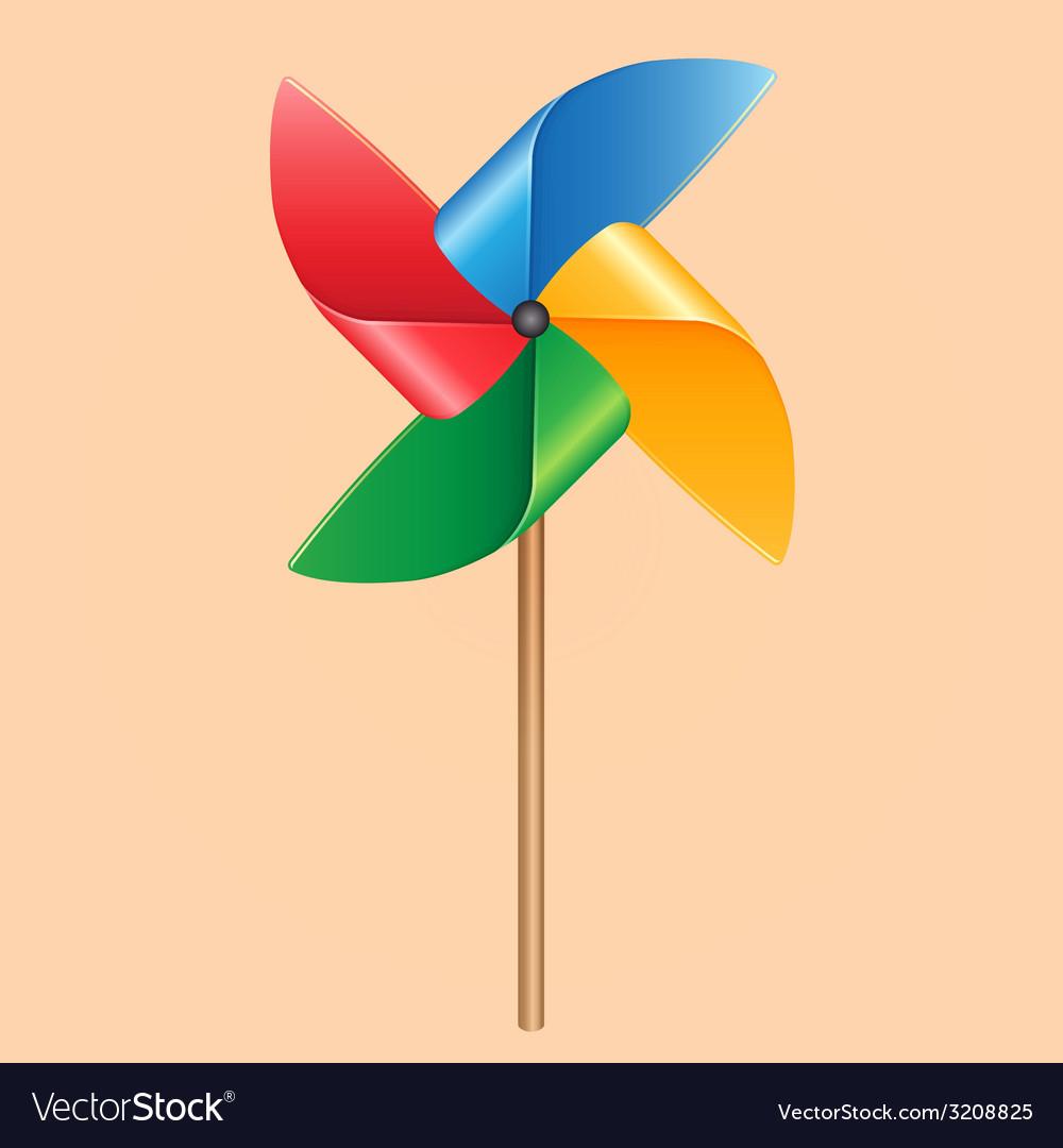 Propeller pinwheel vector | Price: 1 Credit (USD $1)