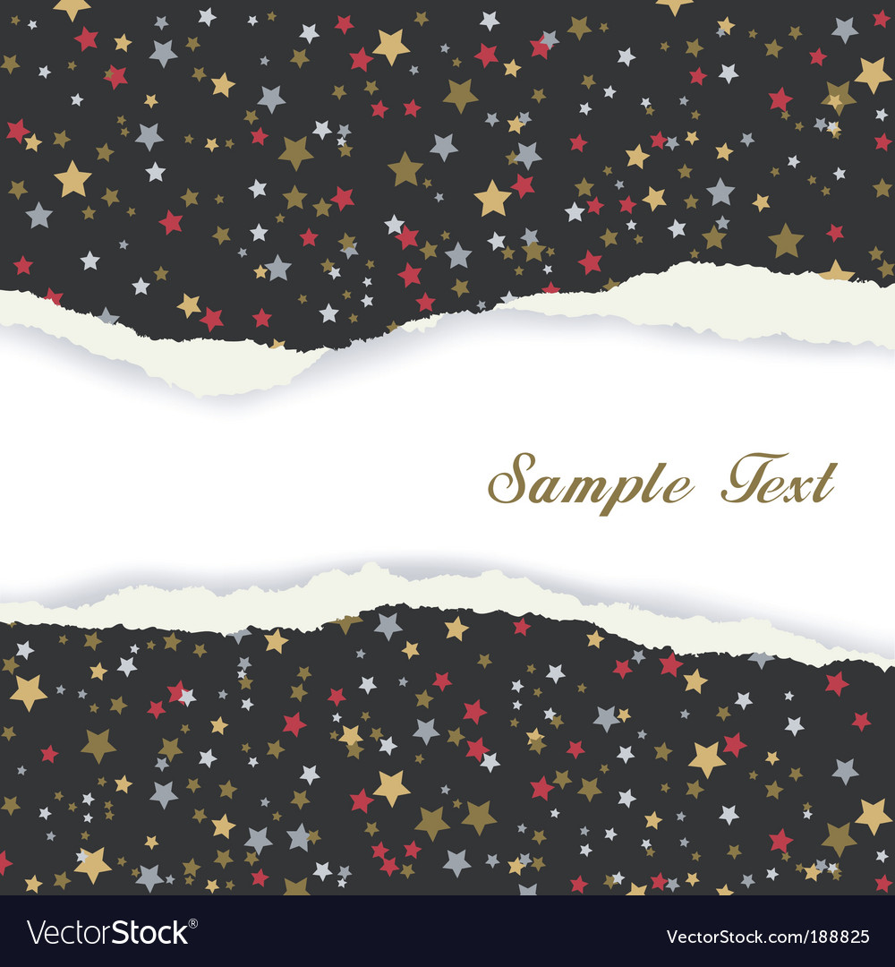 Torn wrapping paper vector | Price: 1 Credit (USD $1)
