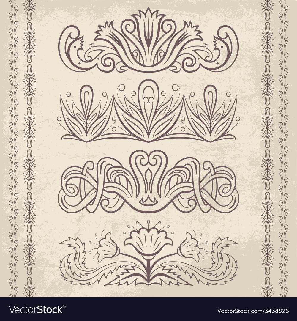 Decor elements3 vector | Price: 1 Credit (USD $1)