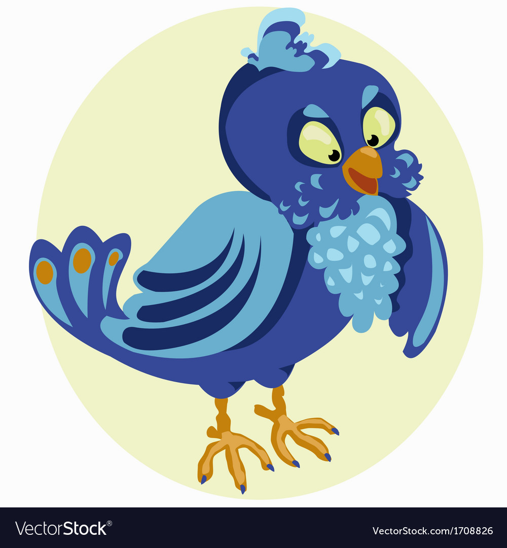 Little birdie vector | Price: 1 Credit (USD $1)