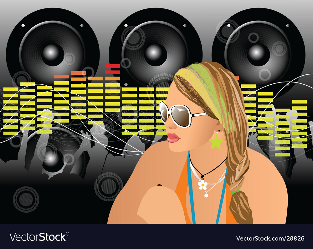 Party people vector | Price: 3 Credit (USD $3)