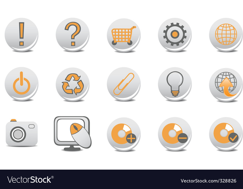 Website and internet buttons vector | Price: 1 Credit (USD $1)